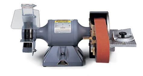 bench grinder belt sander conversion abrasive belt grinders