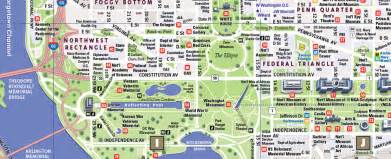 Washington Dc Street Map by Detailed Map Of Washington Dc Washington Dc Map