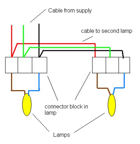 how to connect lights electrics parallel lights