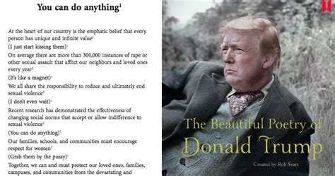 the beautiful poetry of donald canons books someone s turned the nonsense words of donald into