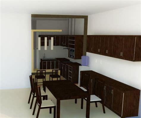 tata ruang meja makan tata ruang dapur minimalis modern lebih efisien dalam
