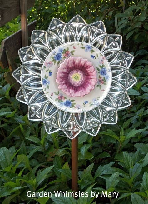 Garden Glass Flowers 409 Best Images About Upcycle Garden Ideas On Gardens Recycling And Bird Feeders