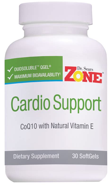 Suplemen Zone dr sears zone cardio support coq10 supplement