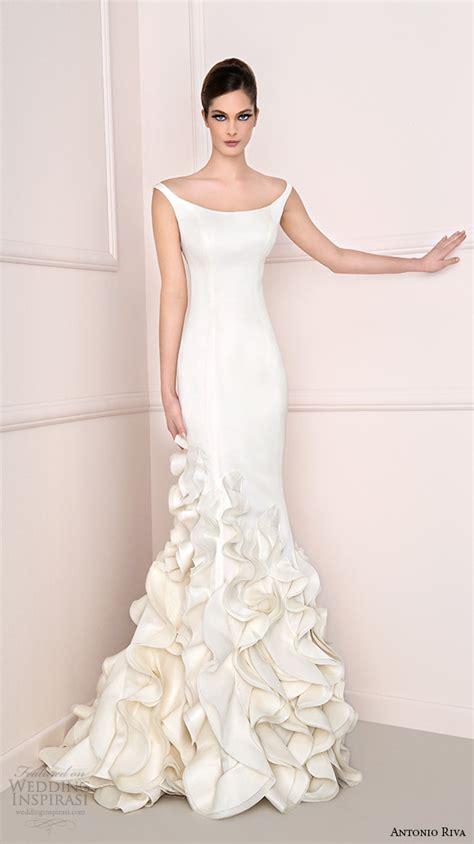 bridal chic wedding gowns antonio riva 2016 wedding dresses wedding inspirasi