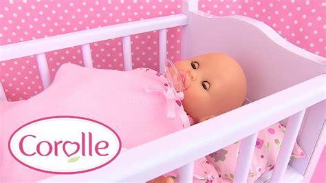 corolle b 233 b 233 mon premier lit 224 bascule baby doll cradle