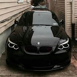 Bmw Modifications Bmw E60 M5 With M4 Daytime Running Lights By Tuning