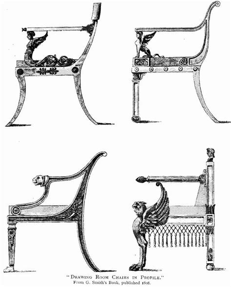 Victorian Armchair Styles File Drawing Room Chairs From Smith S Book Jpg