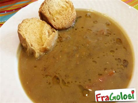 cucinare le lenticchie con il bimby zuppa di lenticchie bimby ricetta di fragolosi it