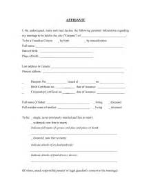 free affidavit template free editable blank affidavit form template with name