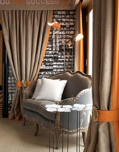 orange burlap curtains 1000 ideas about curtain trim on pinterest drapery
