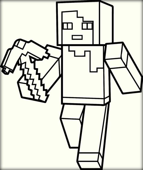 Minecraft Coloring Pages Minecraft Coloring Pages To Print