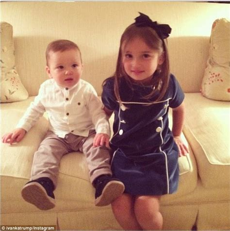 ivanka s children are all smiles in instagram snaps daily mail