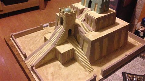 How To Be A Model model sumerian ziggurat chevy s creative workshop