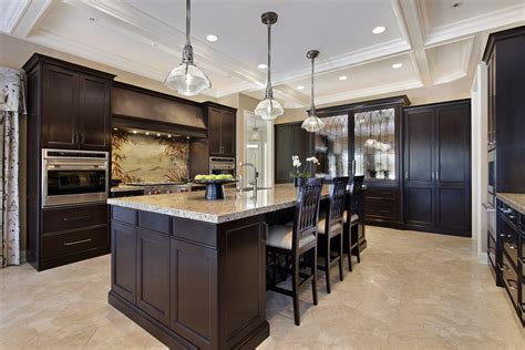 kitchen cabinets dark wood fresh coat of paint light vs dark kitchens