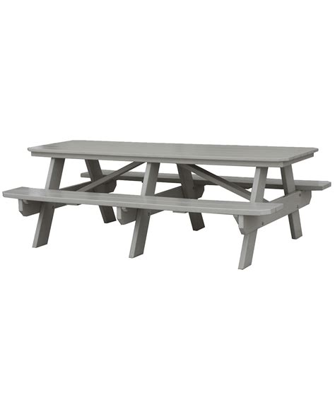 poly picnic table amish direct furniture