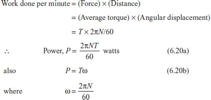 6 6 power transmitted by shaft strength of materials book