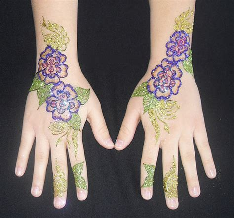 henna design with glitter glitter mehndi designs queen of heaven