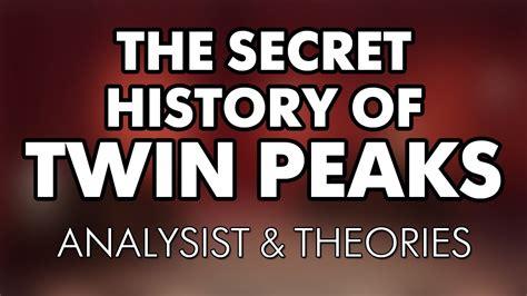 the secret history of the secret history of peaks analysis theories