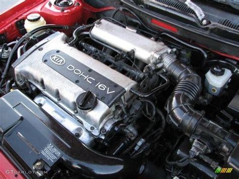 Kia Spectra 2003 Engine 2001 Kia Spectra Gs Sedan 1 8 Liter Dohc 16 Valve 4
