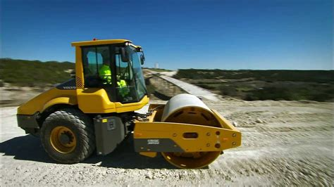 volvo sd sd  sd soil compactors launch video youtube
