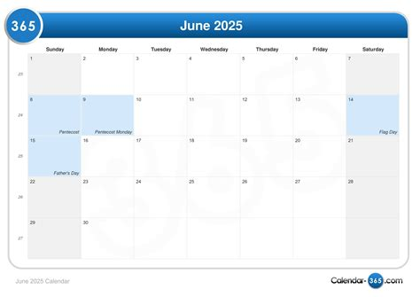 fathers day 2025 june 2025 calendar