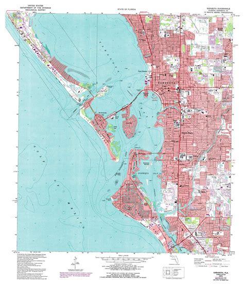 sarasota map sarasota topographic map fl usgs topo 27082c5