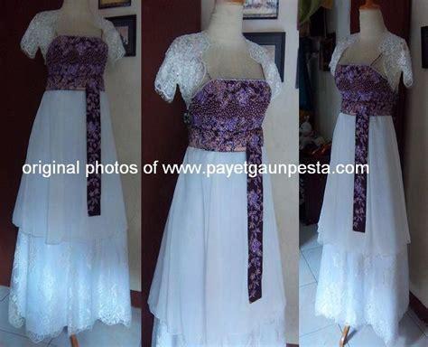 Gaun Tulang payet gaun pesta desain baju pesta kebaya modern dan