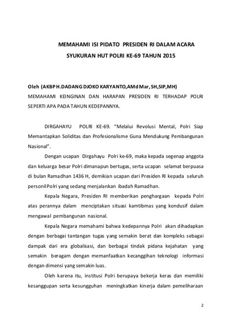Bangkol Polri hut polri ke 69 dipolsek bangko kabupaten merangin akbp dadang dk