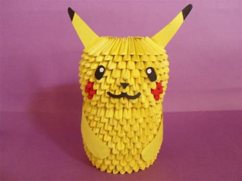 How To Make A 3d Origami Pikachu - pikachu album jimena 3d origami