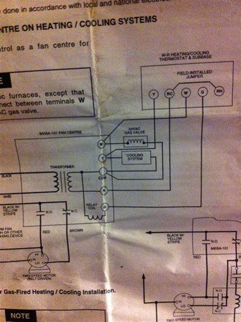 honeywell thermostat rth2310 wiring diagram honeywell