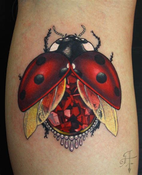 new school ladybug tattoo great ladybug pictures tattooimages biz
