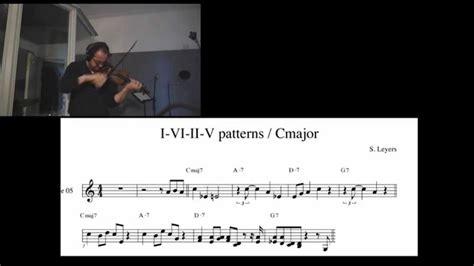 pattern in c youtube i vi ii v patterns in c major youtube