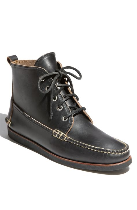 eastland s boots eastland seneca usa boot in black for lyst