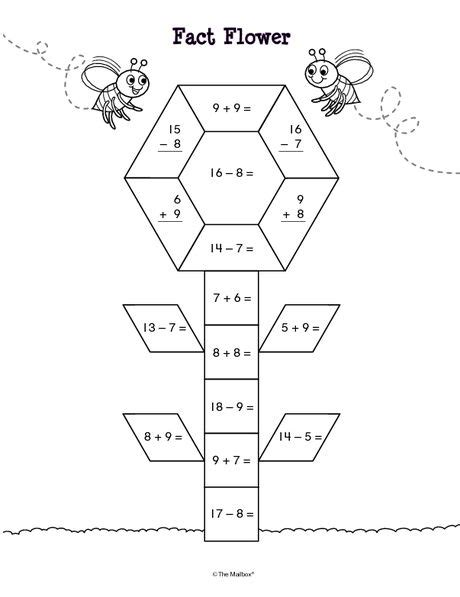 flower pattern math the mailbox math ideas pattern blocks pinterest the