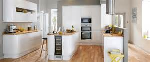 howdens gloss white integrated handle kitchens