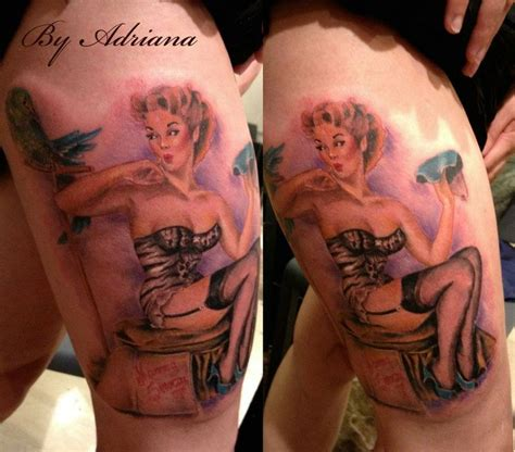 pin up doll tattoos 70 best images about tattoos by adri psycho doll on