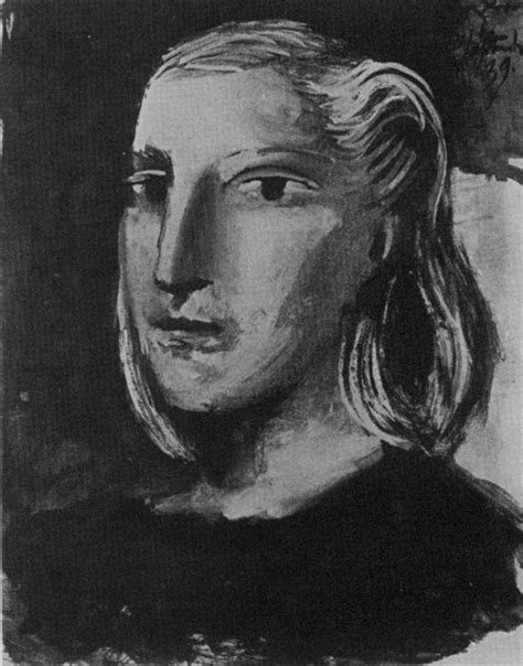 by pablo picasso marie therese walter pablo picasso portrait of marie therese walter 1939