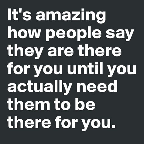How Was It For You by It S Amazing How Say They Are There For You Until