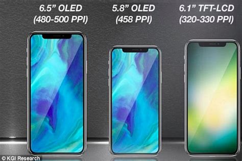 new iphones 2018 stanley forecasts the prices of apple s iphone x 2018 and x plus phonearena