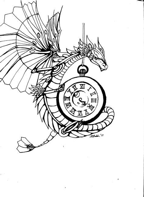 steampunk dragon by cit cat kate on deviantart