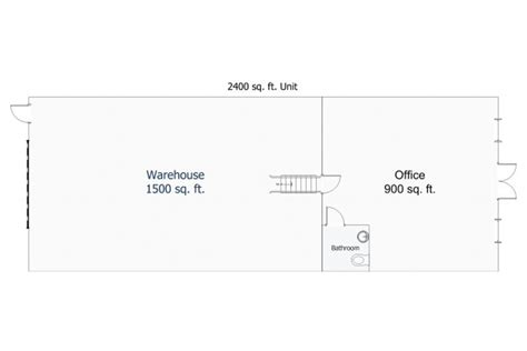 how big is 1500 square feet 2400 sf units lake county s largest flex space