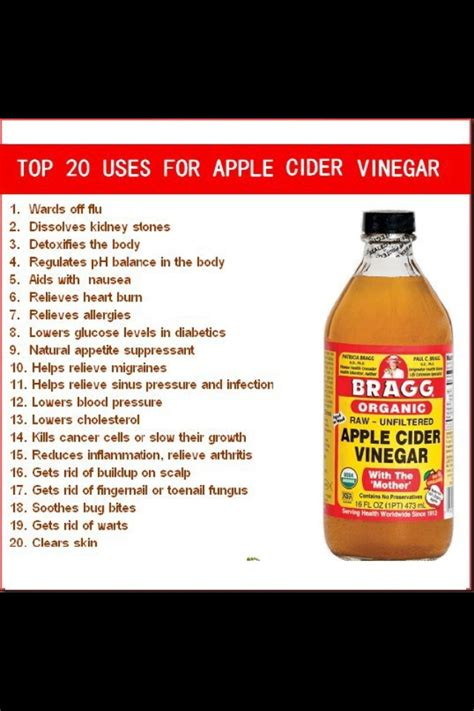Detox Bath Apple Cider Vinegar by Top 20 Uses For Apple Cider Vinegar Health Fitness And