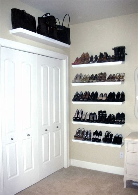 Shoe Shelf Closet by 37 Lack Shelves Ideas And Hacks Digsdigs