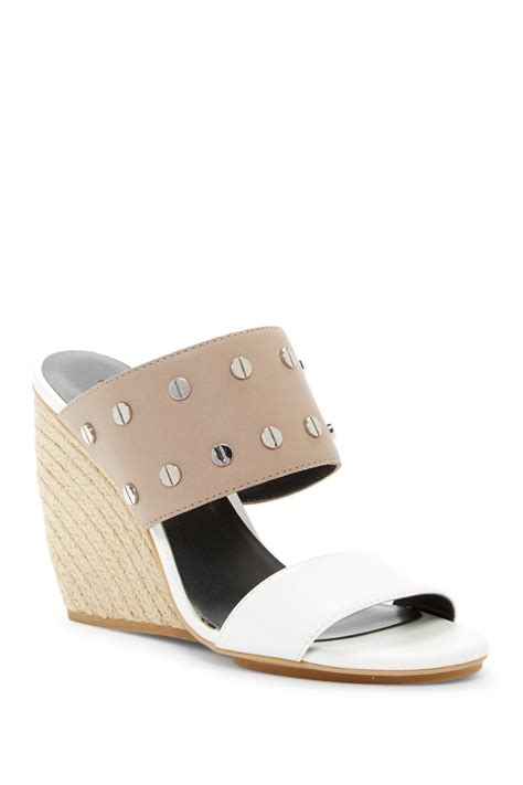 Wedges Emilly minkoff emily studded wedge sandal nordstrom rack