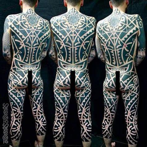 this mind bending body suit is the work of tomas tomas