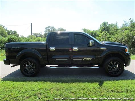 2007 ford f150 crew cab 2007 ford f 150 ftx all terrain tuscany lifted 4x4 crew cab