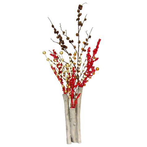 Birch Tree Vases by 14 Quot Realistic Birch Tree Clump Vase Centerpiece Unique