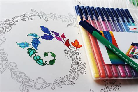 what colored pencils are best for coloring books johanna basford colouring for grown ups product news