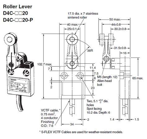 omron limit switch wiring diagram free wiring