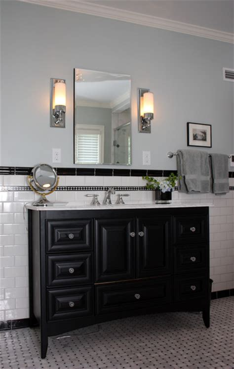 black white and gray bathroom black and white contemporary traditional bathroom